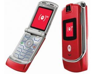 NEW MOTOROLA Fire Red V3 RAZR UNLOCKED CELL PHONE