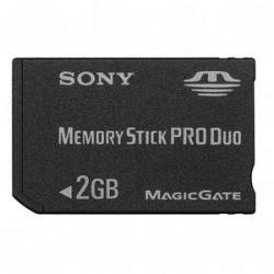 SONY 2 GB Memory Stick PRO Duo for CyberShot DSC Models