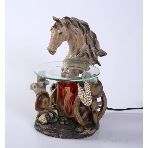 Horse Oil And Wax Tart Warmer - Polyresin
