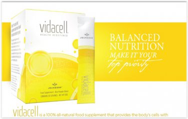 Vidacell ® is a 100% all-natural food supplement