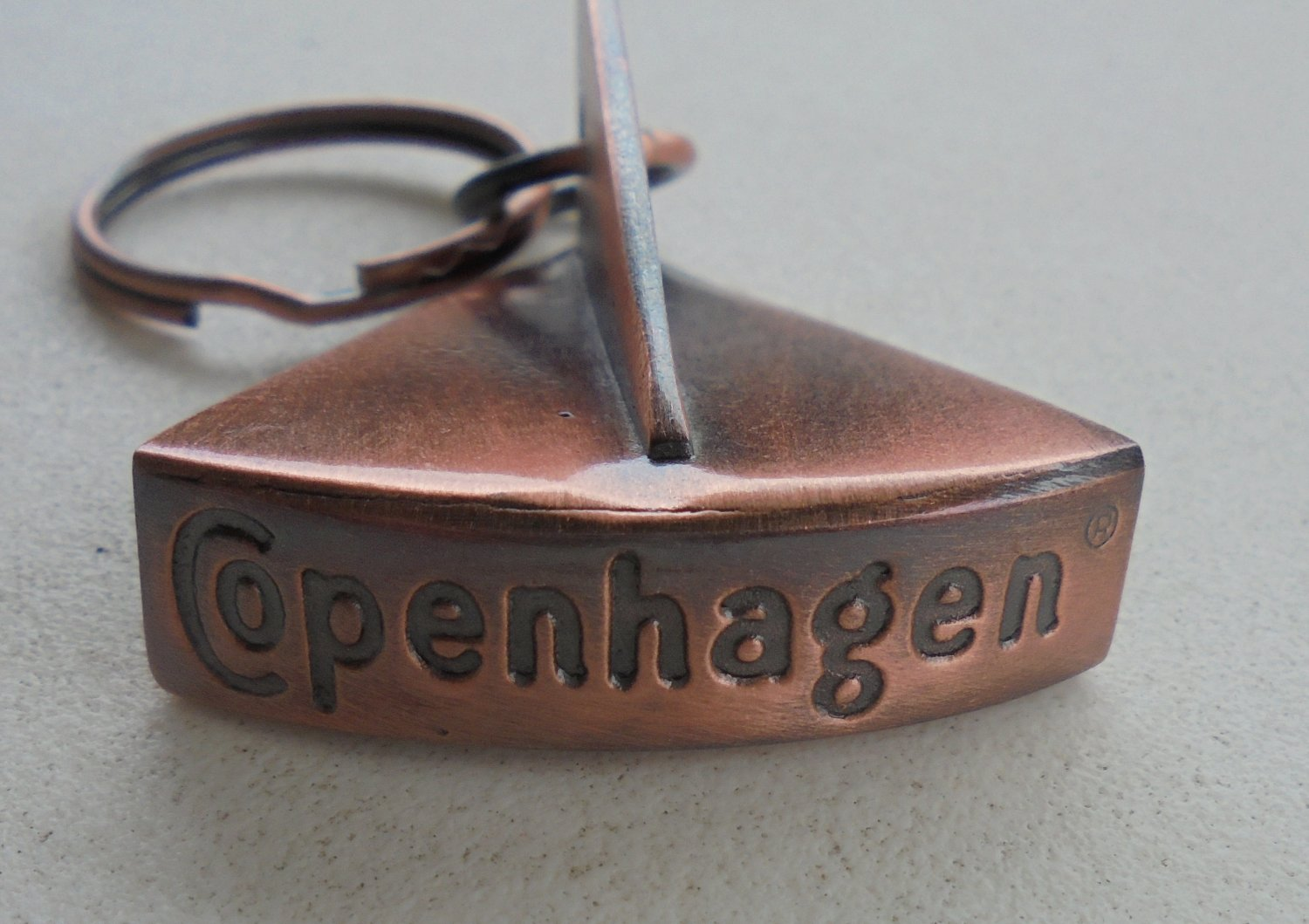 COPENHAGEN SNUFF CAN LID OPENER COPPER COLOR