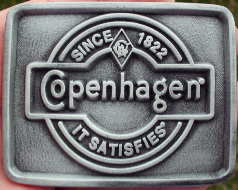 COPENHAGEN SNUFF IT SATISFIES BELT BUCKLE