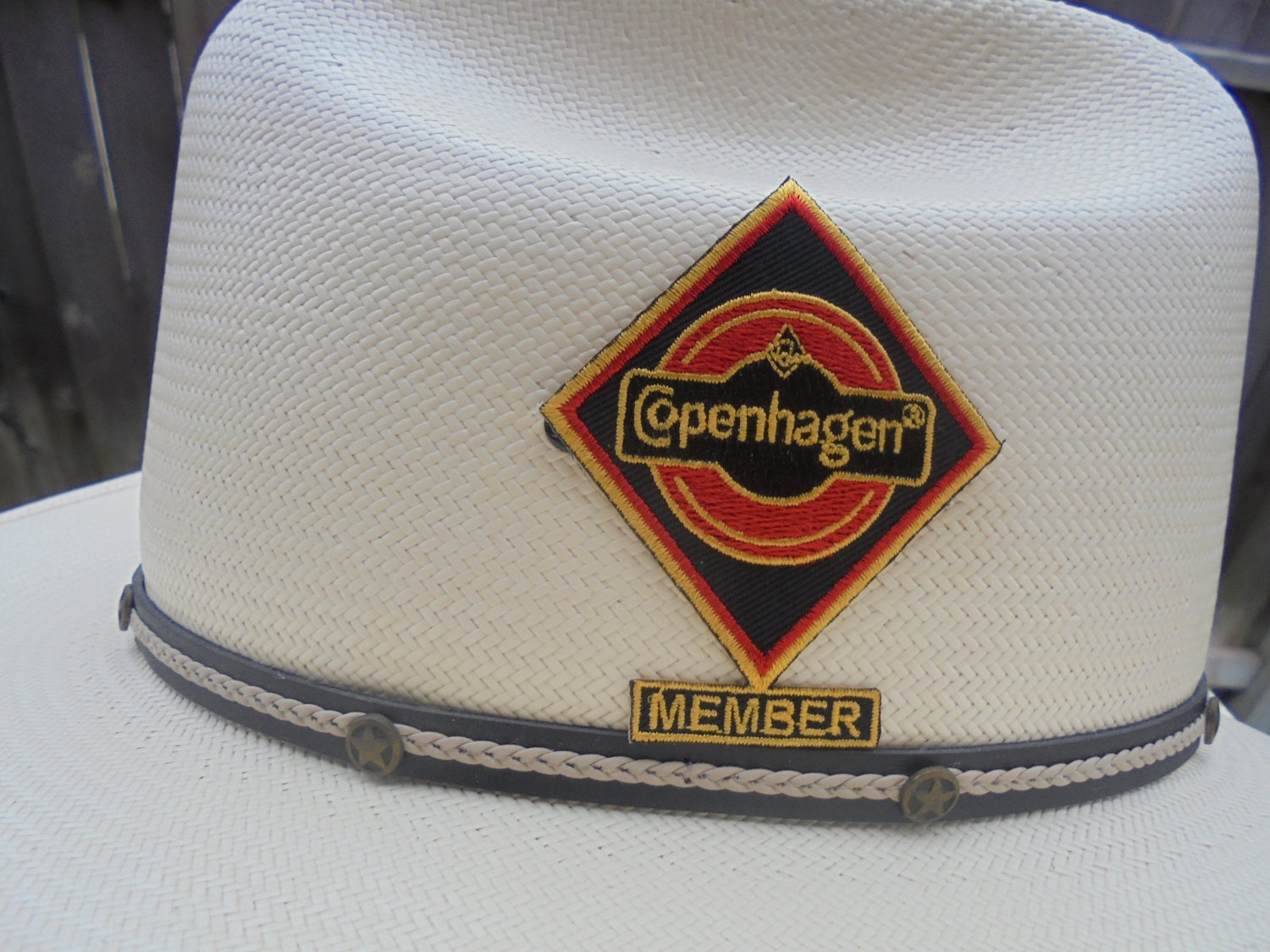 "COPENHAGEN ""MEMBER"" HAT PATCH RARE"