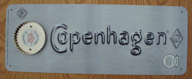 NEW COPENHAGEN LID CUTTER SIGN GRAY COLOR