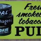 RARE '70S COPENHAGEN/SKOAL/HAPPY DAY DOOR DECAL