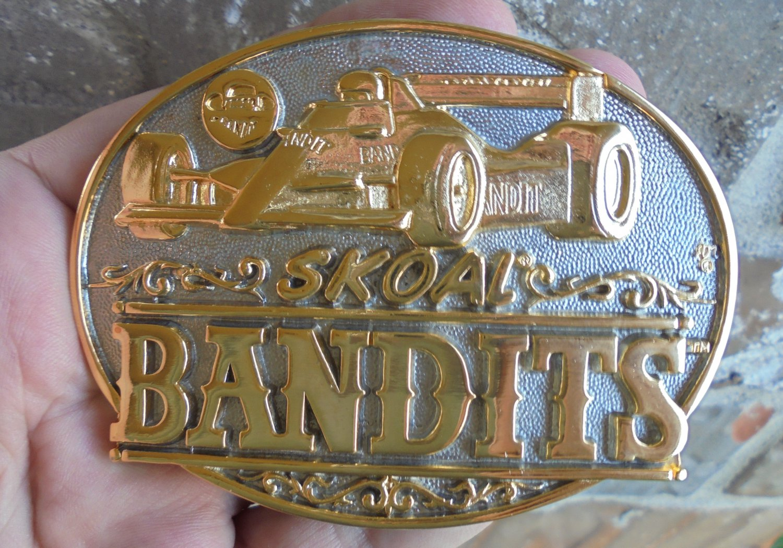 NICE SKOAL BANDIT INDY CAR BELT BUCKLE