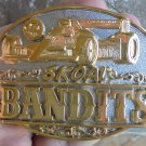 NICE SKOAL BANDIT INDY CAR BELT BUCKLE