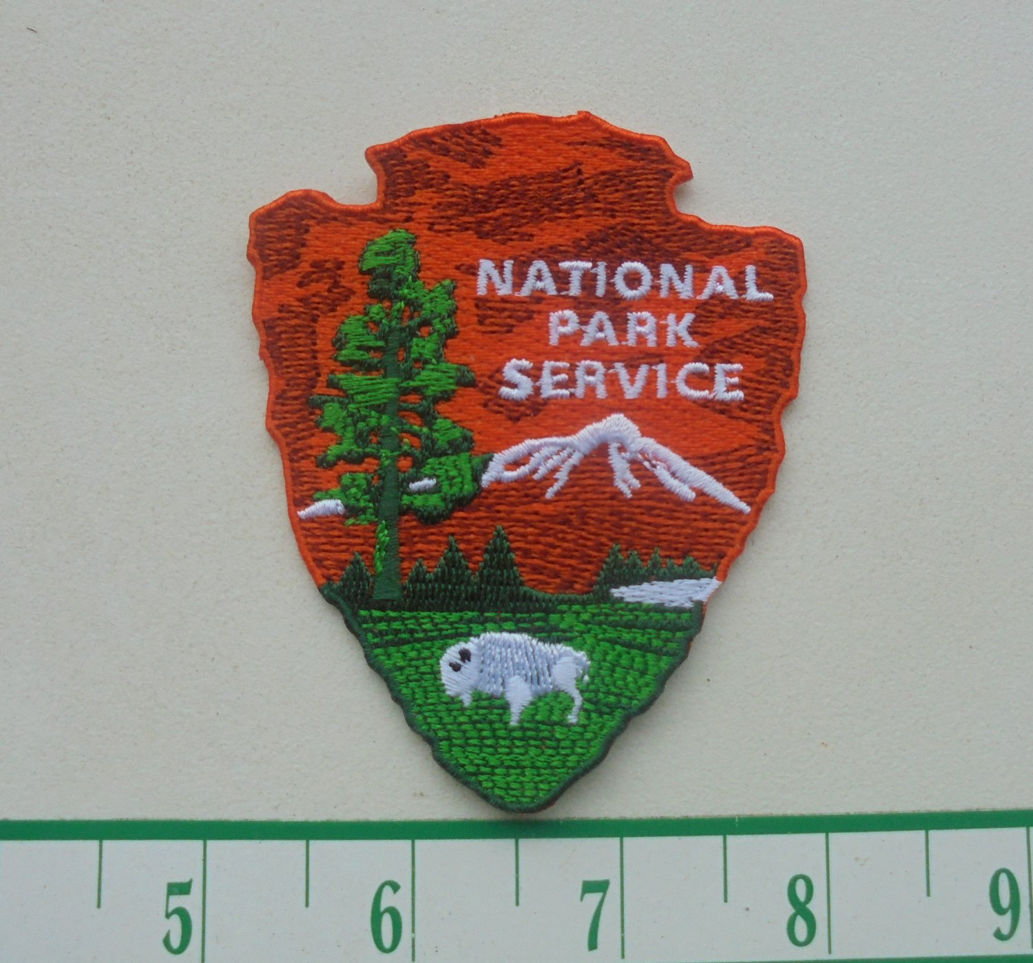 NATIONAL PARK SERVICE IRON ON CLOTH PATCH NEW-NICE