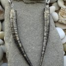 Handmade paper necklace inspired by Game of Thrones. Daenerys double Horn neckla