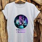 5 Seconds of Summer shirt 5 SOS t shirt women and men 5S-2
