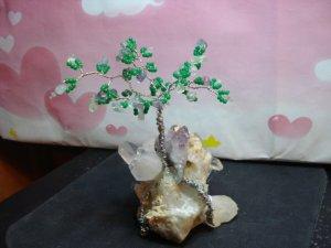 OOAK FLORITE CRYSTAL TREE -  20126894