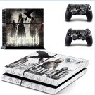 behemoth  PS4 Console skin sticker decal made pvc