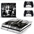 dimmu borgir  PS4 Console skin sticker decal made pvc