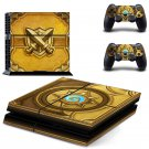 book of cain ps4 Console skin sticker decal made pvc