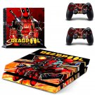 Deadpool PS4 Console skin sticker decal made pvc