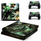 Scalebound PS4 Console skin sticker decal made pvc