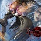 Bayonetta Silk Fabric Canvas wall Poster