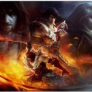 Castlevania Lords of Shadow Silk Fabric Canvas wall Poster