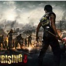 Dead rising 3 Silk Fabric Canvas wall Poster