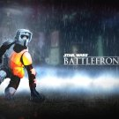 strar wars battlefront Silk Fabric Canvas wall Poster