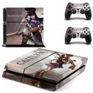 Hero alliance New Design PS4 Console skin sticker decal made pvc