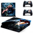 Supermandecal for ps4 console & controller sticker