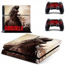 Godzilla decal for ps4 console & controller sticker