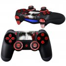 Kratos design PS4 Controller Full Buttons skin