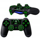 3D Toxic HD design PS4 Controller Full Buttons skin