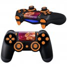 2D Butterfly Texture design PS4 Controller Full Buttons skin