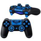 WiLD Blue design PS4 Controller Full Buttons skin