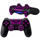 WiLD Indigo design PS4 Controller Full Buttons skin