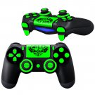 WiLD BrightYellow design PS4 Controller Full Buttons skin