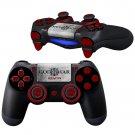 GodWar Kratos design PS4 Controller Full Buttons skin