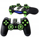 Riddler Hideout design PS4 Controller Full Buttons skin