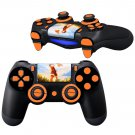 Monkey D Luffy design PS4 Controller Full Buttons skin