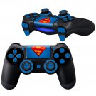 Cool Superman design PS4 Controller Full Buttons skin