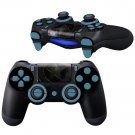 Metallic Star design PS4 Controller Full Buttons skin