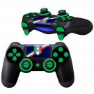 ITALIA soccer design PS4 Controller Full Buttons skin
