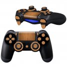 Wooden Sheet design PS4 Controller Full Buttons skin