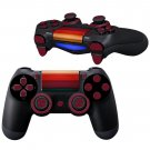 Wood Slide design PS4 Controller Full Buttons skin