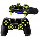 Monster design PS4 Controller Full Buttons skin
