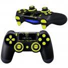 Monster design PS4 Controller Full Buttons skin