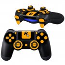 Rockstar Game Design PS4 Controller Full Buttons skin
