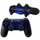 PlayStations Monogram Design PS4 Controller Full Buttons skin