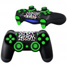 MultiColor Leopard Design PS4 Controller Full Buttons skin