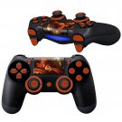 Infamous SS Design PS4 Controller Full Buttons skin