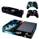 The Dark design skin for Xbox one decal sticker console