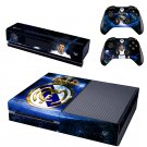 FCB Cristiano design skin for Xbox one decal sticker console