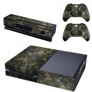 Army Dress design skin for Xbox one decal sticker console